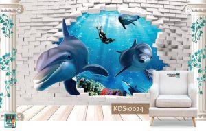 Wallpaper Custom Untuk Kamar Anak
